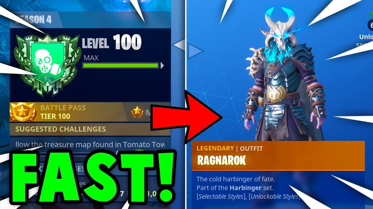 FASTEST Way To GAIN XP + TIER UP in FORTNITE! (Fortnite Battle Royale)