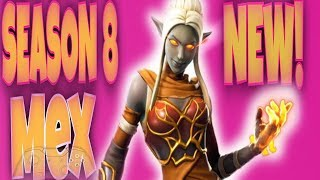 FORTNITE SEASON 8 Mex Live (USE CODE: mexicandom)