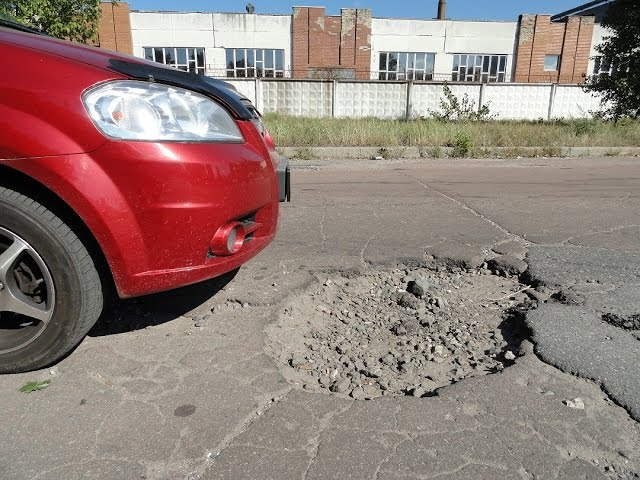 Как научиться объезжать ямы на дорогах