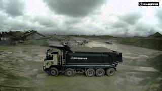 KH-KIPPER wywrotka (tipper) Volvo FMX 10x6 z hydrauliką HYVA ALPHA