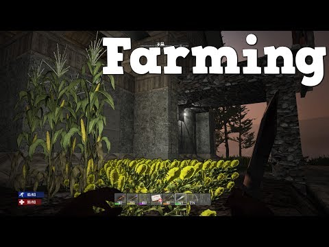 7 Days to Die | PS4 | Farming & Forge Room  | S2 EP16