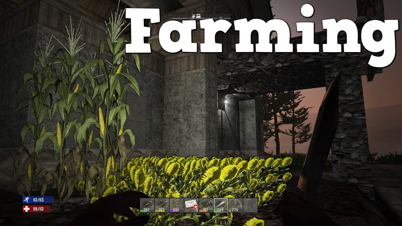 how to make a forge 7 days to die