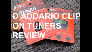 Got A Ukulele Reviews - D'Addario Clip On Tuners