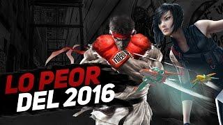 Top 5: Peores videojuegos del 2016