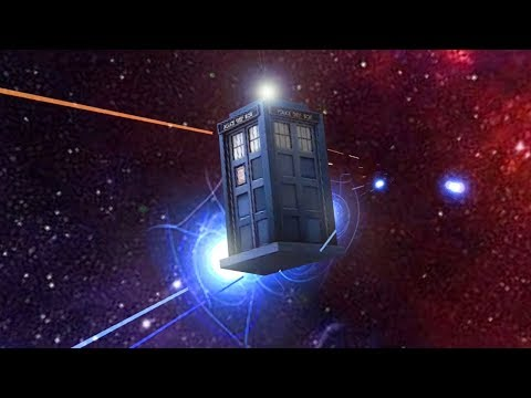 TARDIS Time Vortex VR Game - Doctor Who