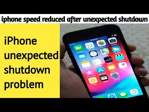 IPhone Unexpected Shut Down Problem