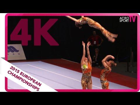 Best choreography: Belgium - Women's Group - Seniors - Dynamic - European Championships 2015