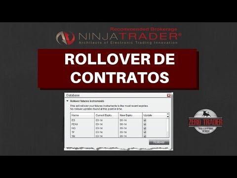 Cómo hacer cambio de contrato (Contract Rollover) en Ninja Trader 8