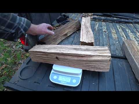 #85 Seven Ways To Tell If Firewood Is Dry