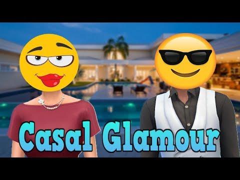 Fiz Sims só com o Glamour Vintage - CASAL RICO!