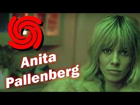 Anita Pallenberg. WOW effect  - Optical illusion.