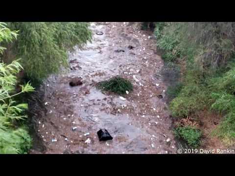 TRASH FLOOD! - A Flash Flood Of Trash In Tucson AZ