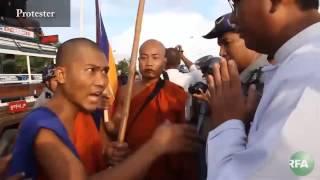 Myanmar Activists Protest Copper Mine Project