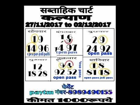 Dekhi jay mahalaxmi CHART daily send subsribe2 kare shear kre