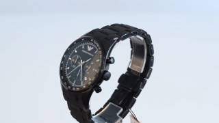 emporio armani watches ar5981 full hd video how to spot fake review price sport classic watch