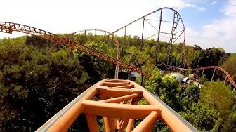 AWESOME Expedition GeForce POV Worlds Best #1 Steel Roller Coaster Holiday Park Germany