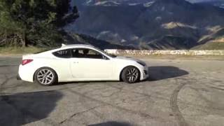 Tuned 2013 BK2 Genesis Coupe 2.0t rspec Donuts!!! Performed by Anjru