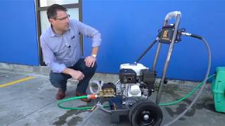 Choosing Your Commercial Petrol Waterblaster | New Staff Member | Colorex Trade & Hire