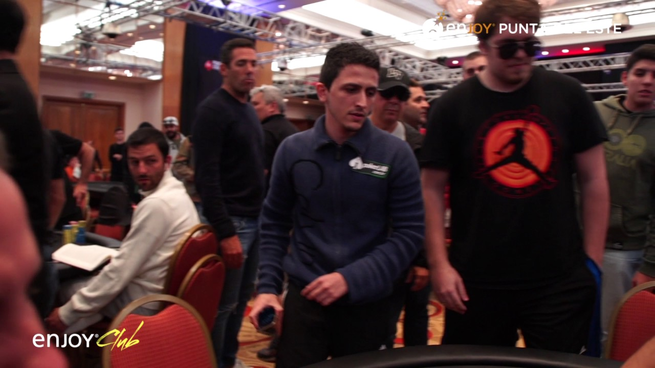 BSOP 2017 Enjoy Punta del Este - Helio Neves Chipleader Día 2 Main Event