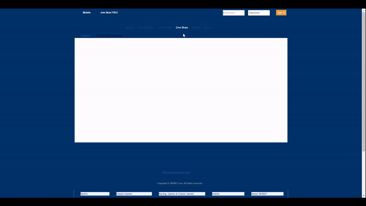 Sbobet Review And Information