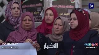 الهم السياسي الفلسطيني  يخيم على يوم المراة العالمي - (6-3-2018)