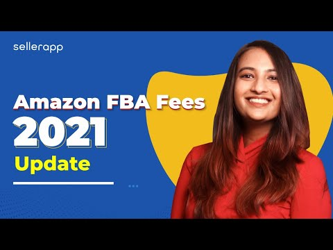 New FBA Fees Explained: How Much Does It Cost To Sell On Amazon in 2021?   Amazon Fees Breakdown