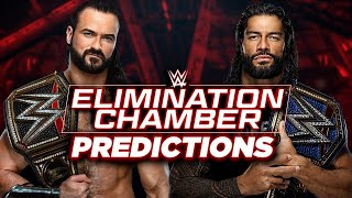 WWE Elimination Chamber 2021 Predictions
