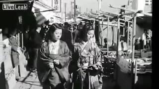 LiveLeak - Amazing Street Scenes In Japan In The Late 1940's