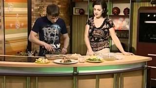 Рецепты.Азиатский салат и французский суп