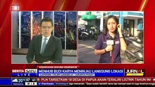 Download Video Gedung Kemenhub di Jakarta Pusat Terbakar MP3 3GP MP4