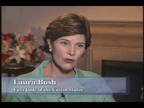 Laura Bush - Up Close with Patsy Smullin