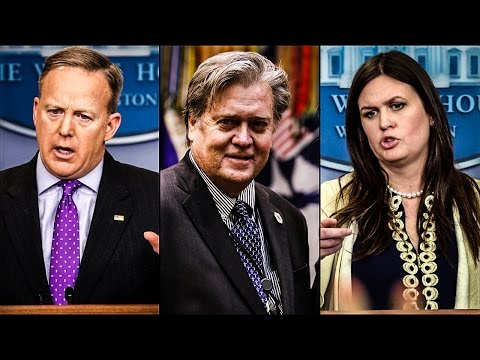 Thumbnail: Sean Spicer, Steve Bannon, And Sarah Huckabee Sanders Erupt In Argument After Intel Leak