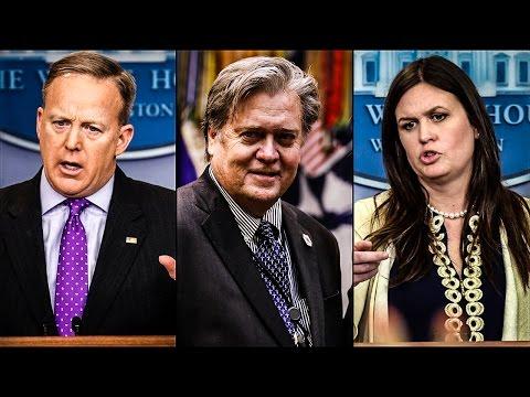 Sean Spicer, Steve Bannon, And Sarah Huckabee Sanders Erupt In Argument After Intel Leak