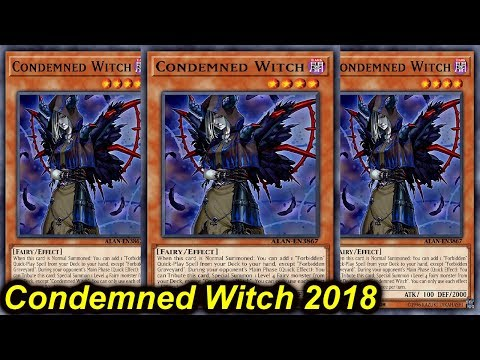 【YGOPRO】CONDEMNED WITCH DECK 2018