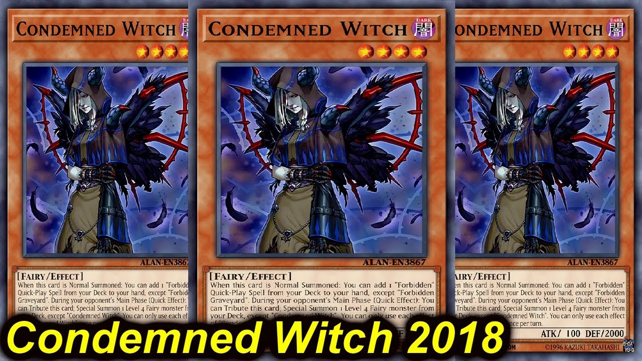 counter fairy condemned witch - YGOPRODECK