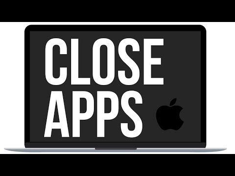 How To Close Apps In Mac, MacBook, IMac, Mac Mini, Mac Pro