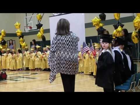 Cypress Montessori School Graduation Ceremony at Cypress Falls High School 2017