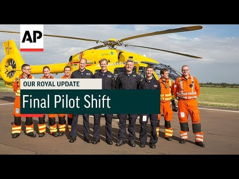 Prince William's Final Pilot Shift - 2017  | Our Royal Update # 45