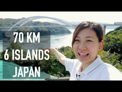 Cycling 70km Across 6 Islands In Japan | Shimanami Kaido Tra
