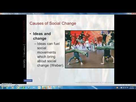 Chapter 16:  Social Change:  Modern and Postmodern Societies