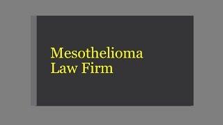 Top Information of Mesothelioma Attorneys in Illinois