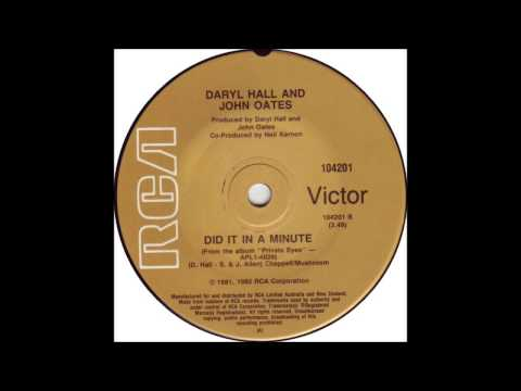 Hall & Oates - Did It In A Minute -...