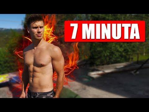 KAKO SMRŠAVITI U 7 MINUTA (Bez Opreme)