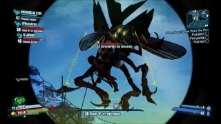 Borderlands 2 Secret Boss Vermivorous the Invincible