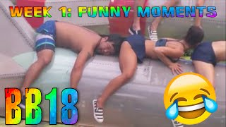 Big Brother 18: Funny Moments from Week 1