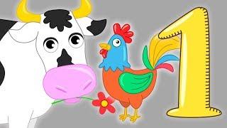 #СБОРНИК песен и мультиков про животных - Звуки голоса животных - Развивающие мультфильмы для детей