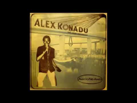 Alex Konadu One Man Thousand ‎– Awoo Ne Awo FULL Album 70's Ghana Highlife, Funk, Folk Music Africa