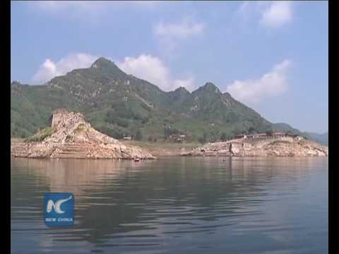 Underwater Great Wall resurfaces in north China