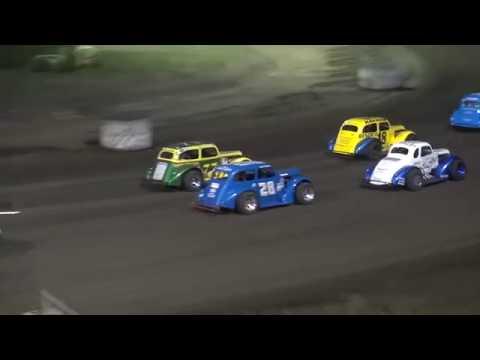 INEX Legends feature Benton County Speedway 8/4/19