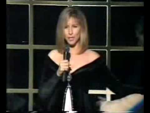 Barbra Streisand As If We Never Said Goodbye live